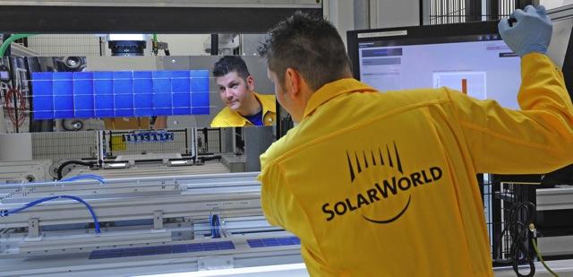 SolarWorld Modulfertigung 7761